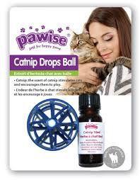 Catnip Drops Ball 10 ml Pawise
