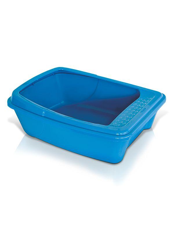Caixa de Areia com Borda Alta Plast Pet