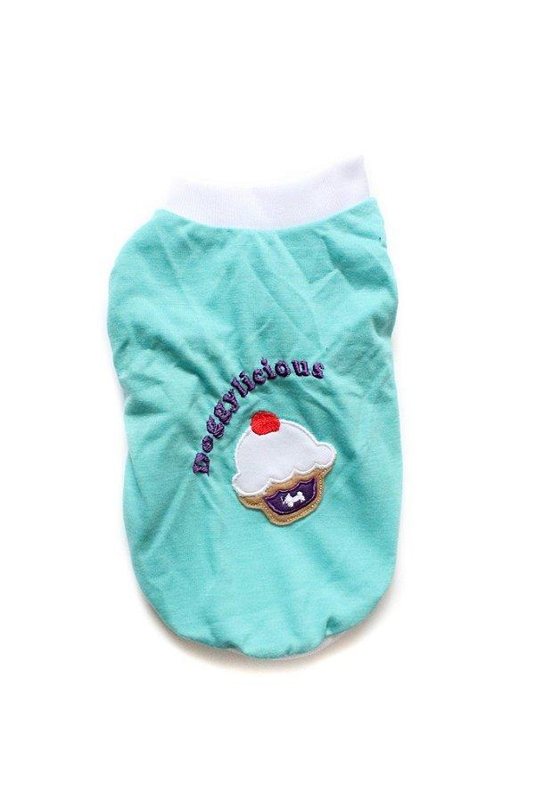 Camiseta em Malha Cupcake