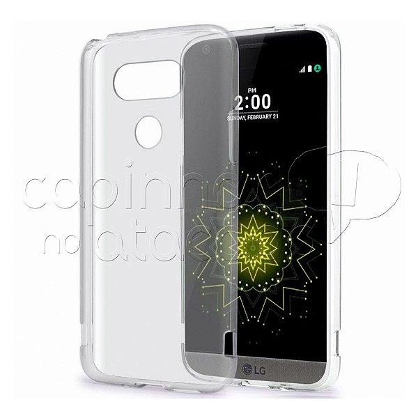 Capa de Silicone TPU Transparente para LG G5