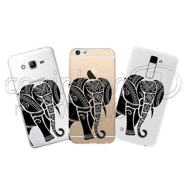 Capa Personalizada Premium - Elefante Maori