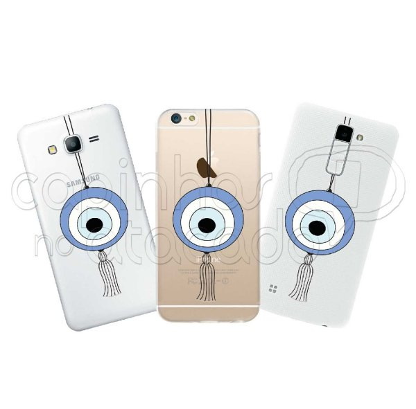 Capa Personalizada Premium - Olho Grego