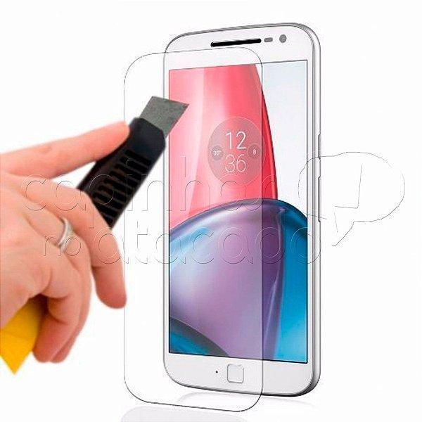 Película de Vidro Temperado para Motorola Moto G4 Play