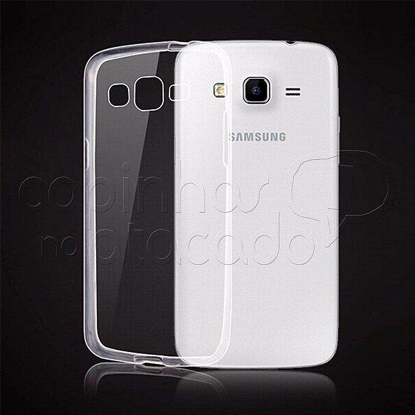 Capa de Silicone TPU Transparente para Samsung Galaxy S3 Duos