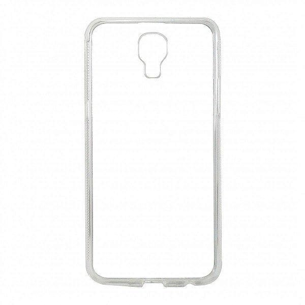 Capa de Silicone TPU Transparente para LG X Screen