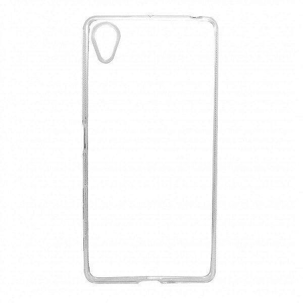Capa de Silicone TPU Transparente para Sony Xperia X