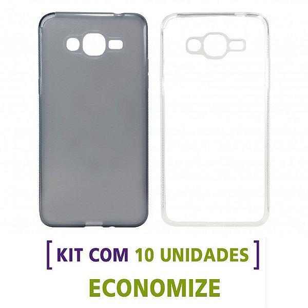 Kit com 10 Capas de Silicone TPU para Celulares da Samsung