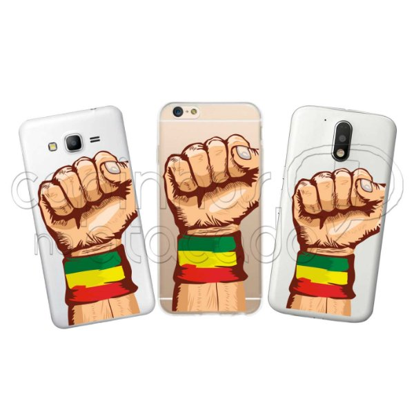 Capinha Personalizada Premium - Reggae Power
