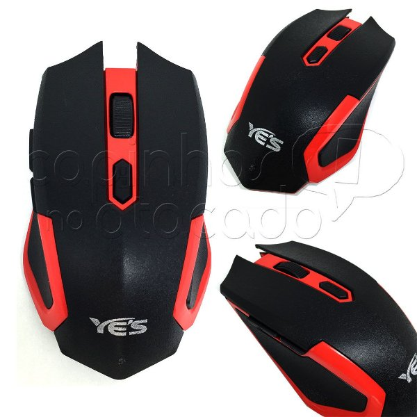 Mouse Wireless Sem Fio - Style