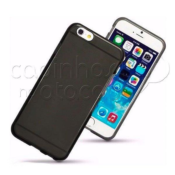 Capa de Silicone TPU Fumê para iPhone 7 Plus