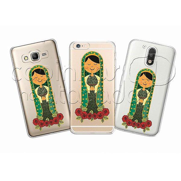 Capinha Personalizada Premium - Nossa Senhora Flores