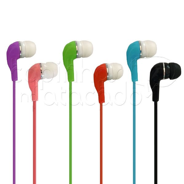 Fone de Ouvido Intra-Auricular Basic Color