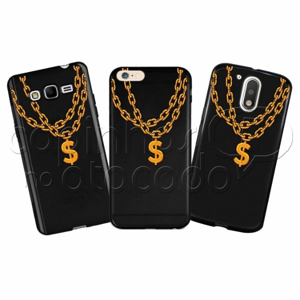 Capinha Personalizada Premium BLACK - Gangster