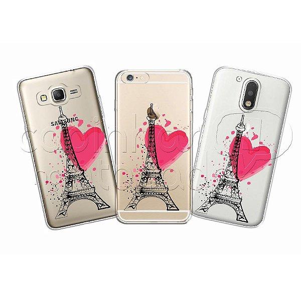Capa Personalizada Premium - Torre Eiffel