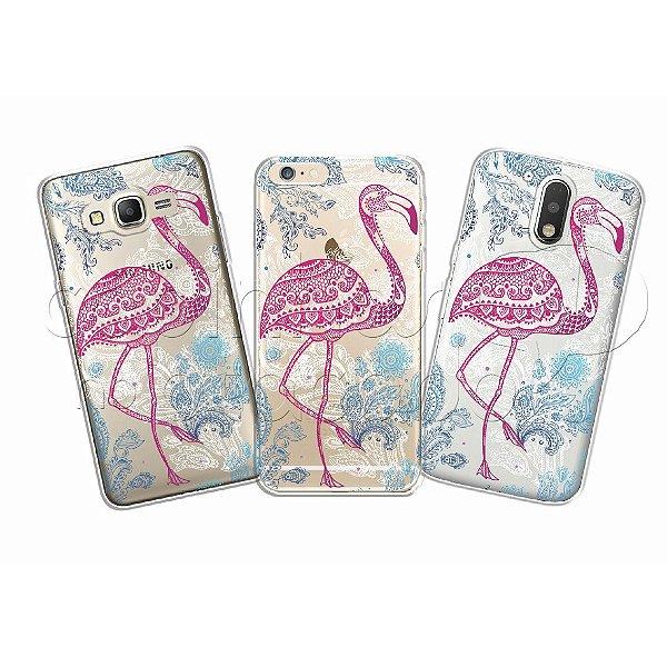 Capinha Personalizada Premium - Flamingo