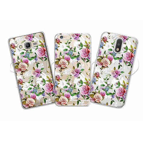 Capinha Personalizada Premium - Rosas