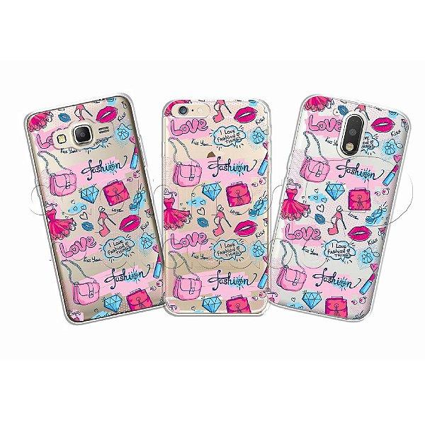 Capinha Personalizada Premium - Fashion Love