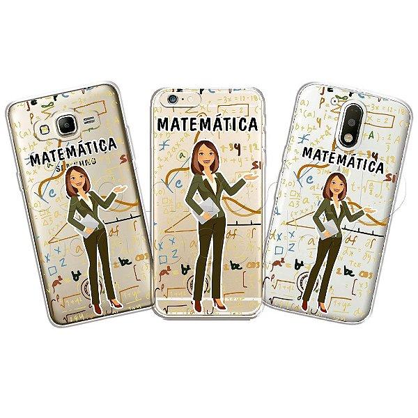 Capa Personalizada Premium Profissões - Matemática