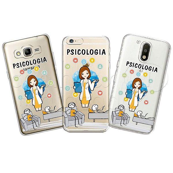 Capinha Personalizada Premium Profissões - Psicologia