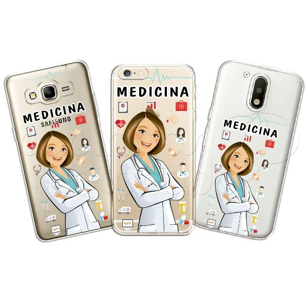 Capa Personalizada Premium Profissões - Medicina