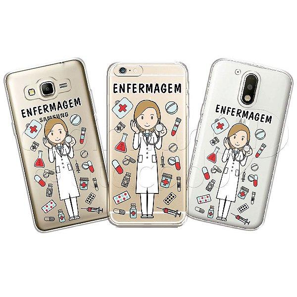 Capinha Personalizada Premium Profissões - Enfermagem
