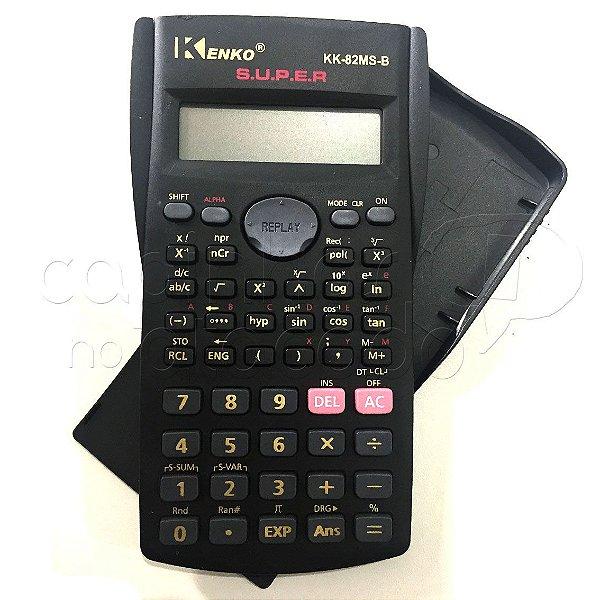 Calculadora Científica KK-82MS-B - Cores Sortidas