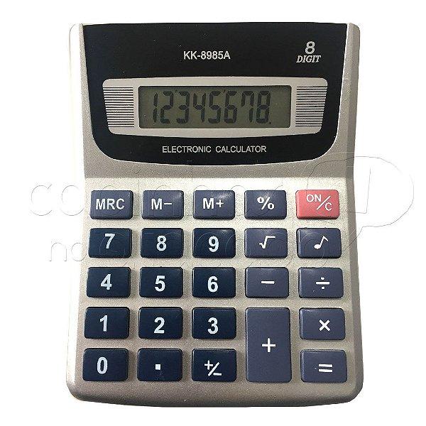 Calculadora Eletrônica KK-8985A - Cores Sortidas