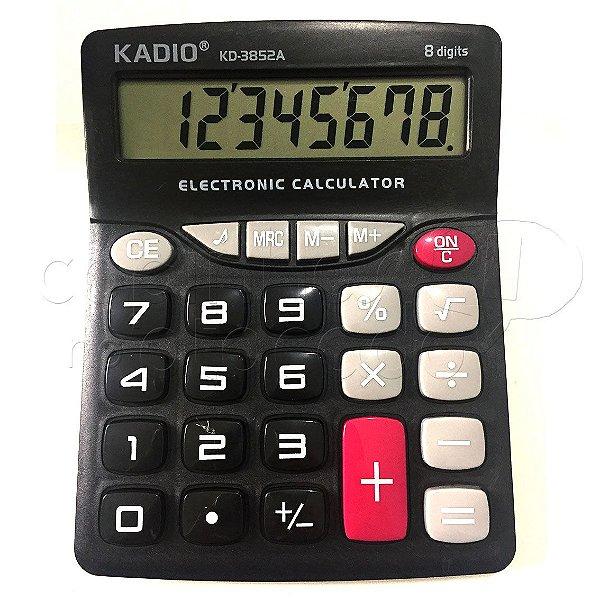 Calculadora Eletrônica KD-3852A - Cores Sortidas