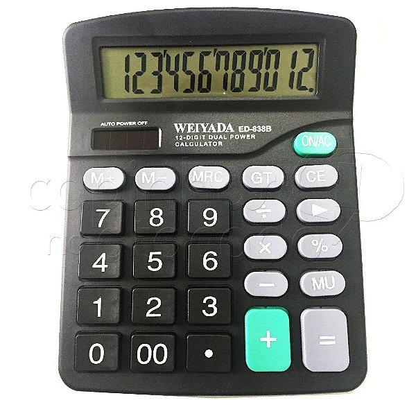 Calculadora Eletrônica 12 Dígitos ED-838B - Cores Sortidas