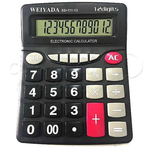 Calculadora Eletrônica 12 Dígitos ED-111-12 - Cores Sortidas