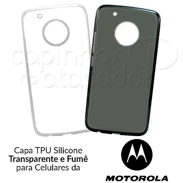 Capinha de Silicone TPU para Celulares da Motorola - Clique e Escolha o Aparelho