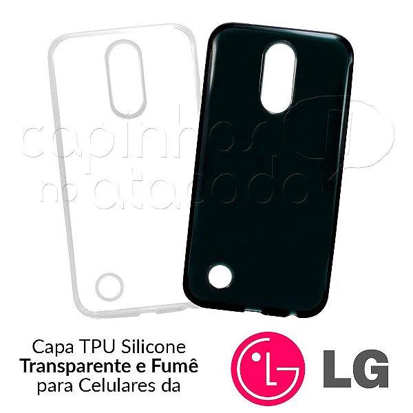 Capinha de Silicone TPU para Celulares da LG - Clique e Escolha o Aparelho