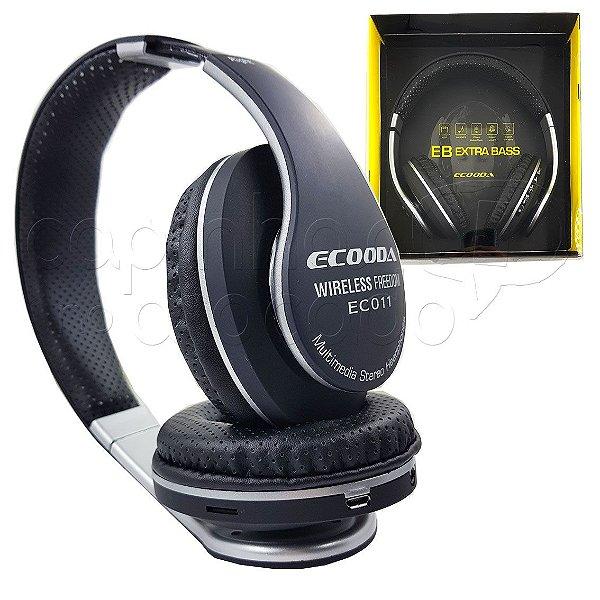 Headphone Bluetooth EB Extra Bass - ECOODA