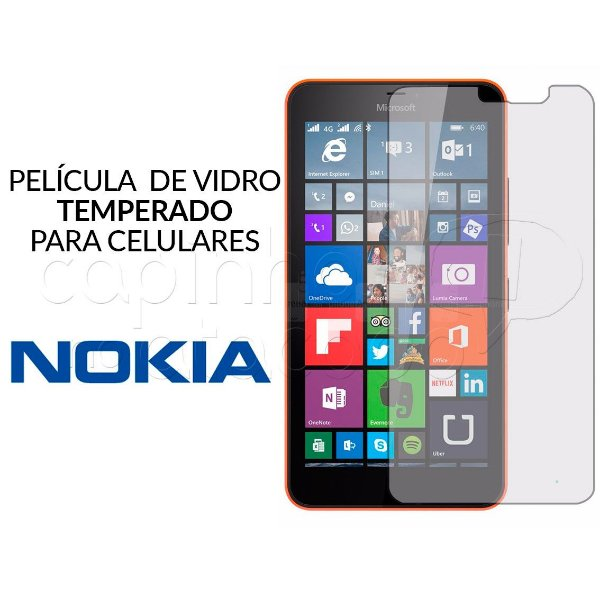 Película de Vidro Temperado para Celulares Nokia - Clique e Escolha o Aparelho