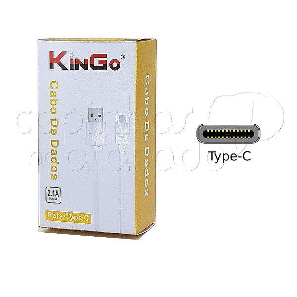 Cabo de Dados Type-C Linha Premium - KinGo