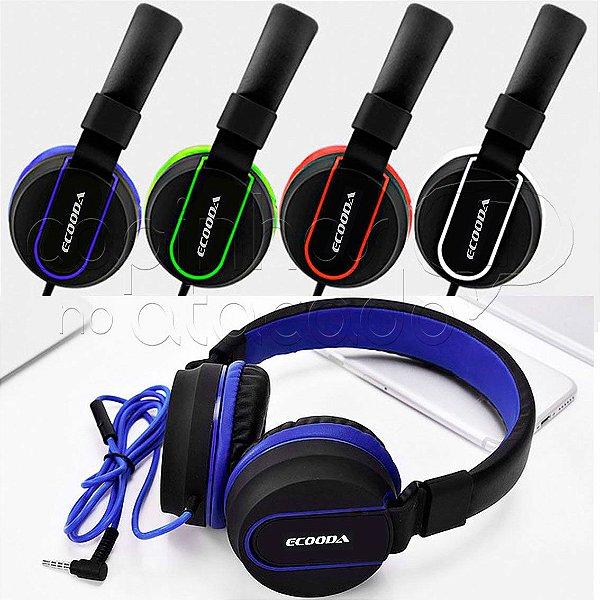 Headphone Sport Confort - Ecooda - Cores Sortidas