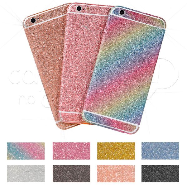 Adesivo Protetor com Glitter - Cobertura Total