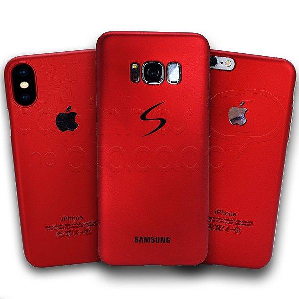 Capa de Silicone Red Metalic
