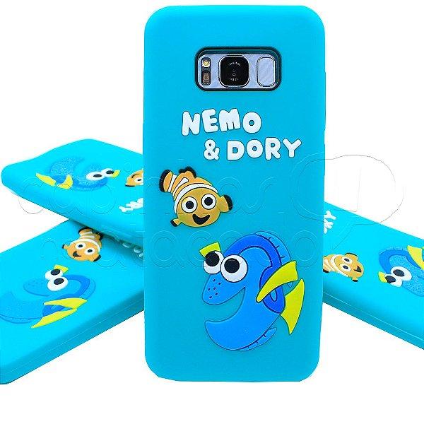 Capinha de Silicone 3D Nemo e Dory
