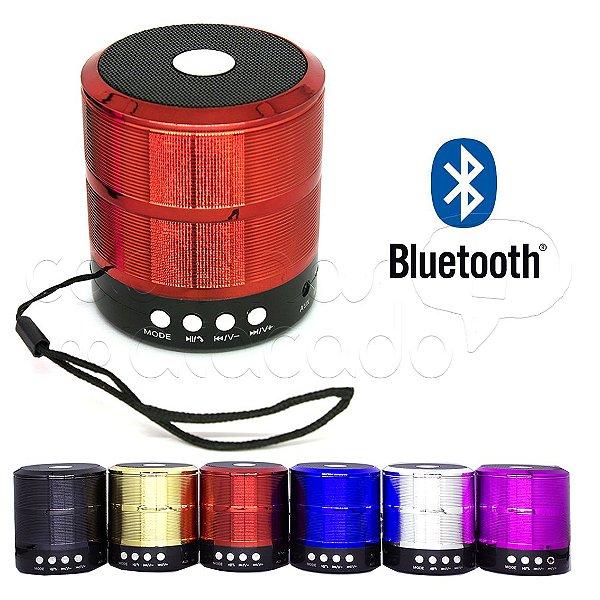 Caixa de Som Speaker YST888 - Bluetooth/Fm/USB/SD - Cores Sortidas