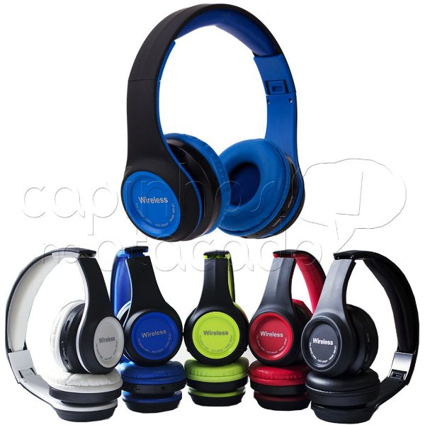 Headphone Bluetooth MS-991A - Cores Sortidas