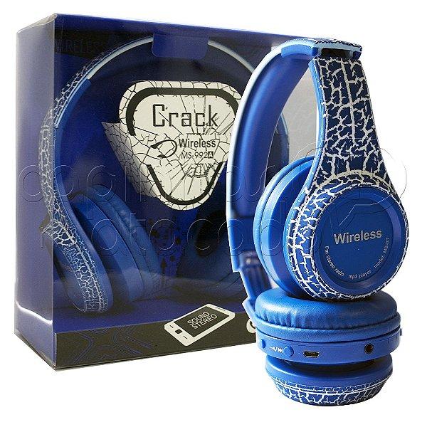 Headphone Bluetooth Craquelê 992A - Cores Sortidas