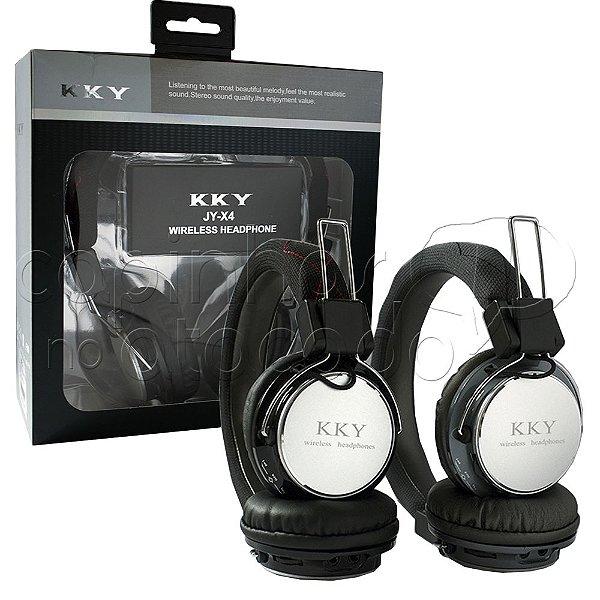 Headphone Bluetooth Metálic JY-X4 - Cores Sortidas