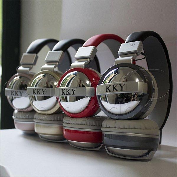 Headphone Bluetooth Mirror JY183 - Cores Sortidas