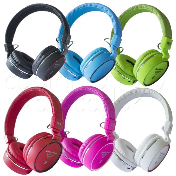 Headphone Bluetooth Music Acompany SH10 - Cores Sortidas