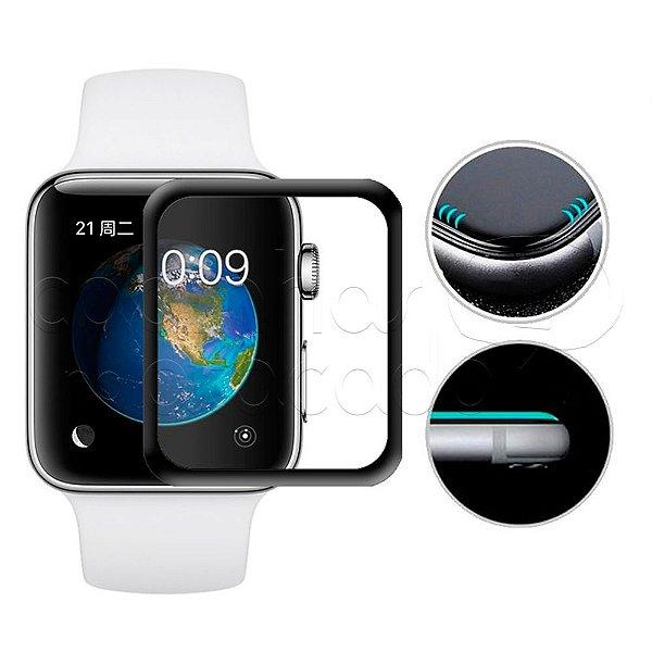 Película de Vidro Curvada para Apple Watch