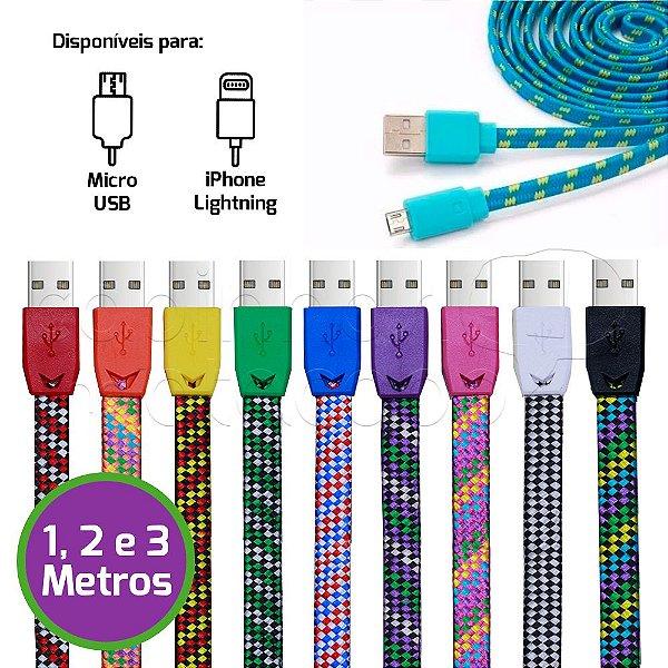 Cabo de Dados Corda Color Fun - Cores Sortidas