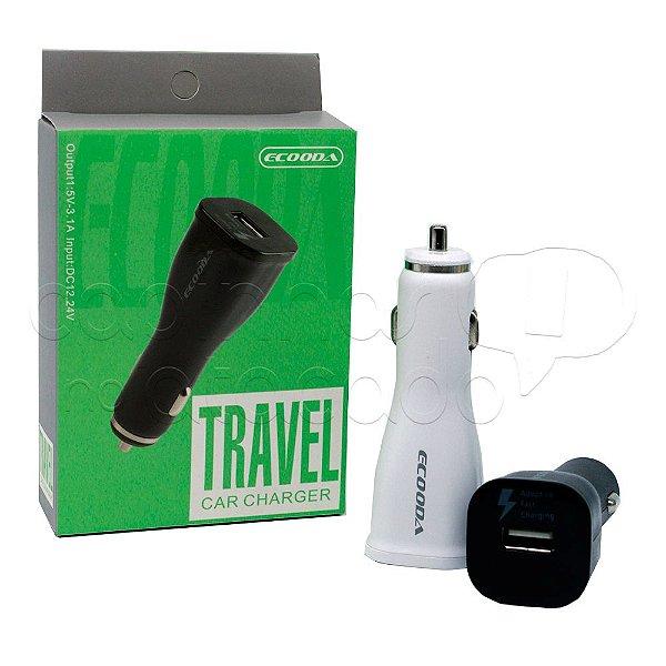 Carregador Veicular Travel - Cores Sortidas