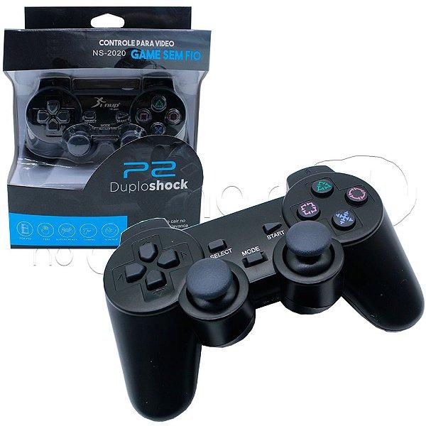 Controle sem Fio para PS2 com Blister