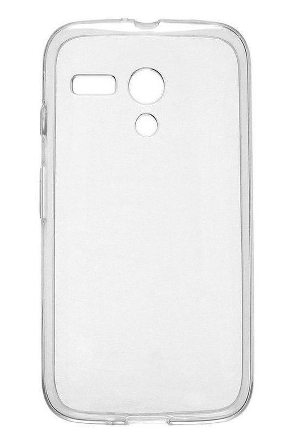 Capa de Silicone TPU Transparente para Motorola Moto G